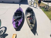 Two kayaks, 10ft and 12ft.  Ventura