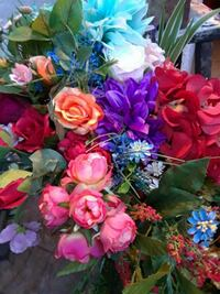 pink and blue artificial flowers Huntington Beach, 92647