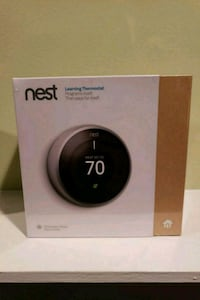 Nest learning thermostat Fairfax, 22033