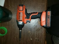 red and black Black & Decker cordless hand drill Louisville, 44641