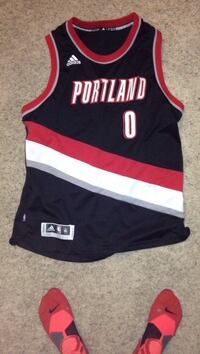 white and black Adidas Portland 0 jersey Bend, 97702