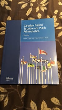 Collage text book. Canadian political structure and public administration. Brand new bought in 2018   Brampton, L7A 2W2