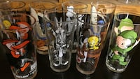 Looney tunes theme drinking glass lot Lincolnton, 28092