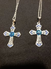 FASHION CROSS NECKLACE (IN 5 COLOR CHOICES