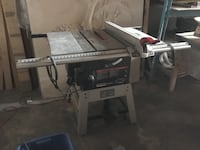 black and gray table saw Toronto, M9L 1C8