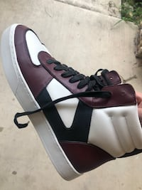 Coach high top sneakers sz 9.5 Mission, 78574