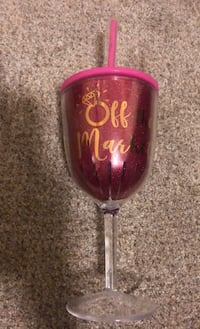 Off the Market plastic wine cup