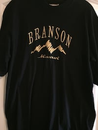 GOLD EMBROIDERY BRANSON SHIRT ADULT XL Owasso, 74055