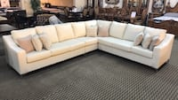 Air Leather Sectional