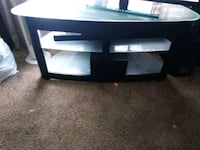 Black metal and glass tv entertainment center Nashville, 37210