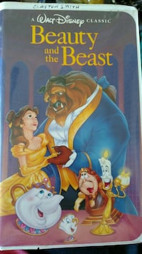 Beauty and the Beast VHS Houston, 77015