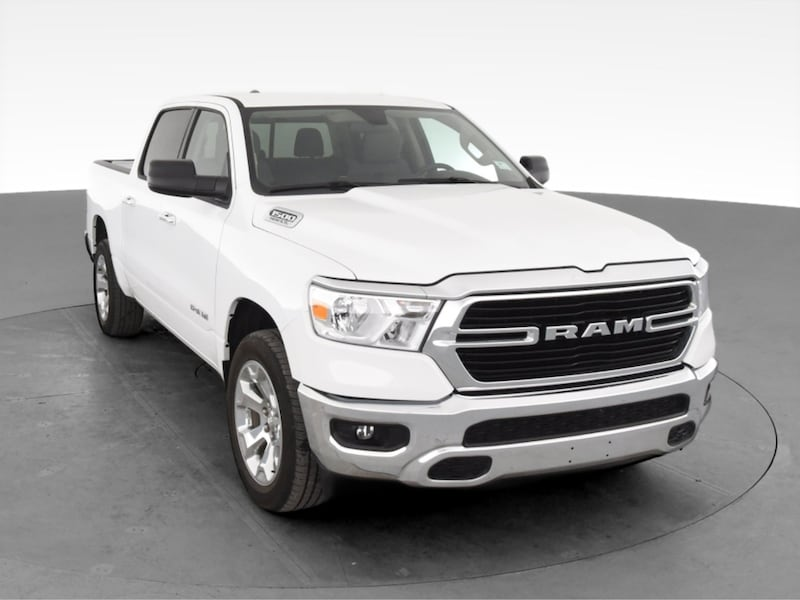 2019 Ram 1500 Crew Cab pickup Big Horn Pickup 4D 5 1/2 ft White 15