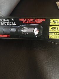 Used Pro 4 Tactical Flashlight For Sale In Garden City Letgo