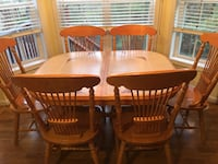Dining room table with 6 chairs  Great Mills, 20634