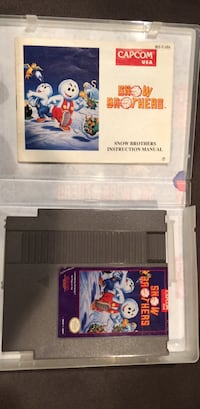 NES snow brothers and Manuel Long Beach, 11561