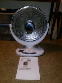 Oscillating Parabolic Heater. Atlanta