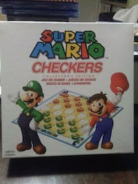 NINTENDO SUPER MARIO CHECKERS COLLECTORS EDITION Pickering, L1V 3V7