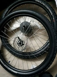 27 5 bicycle wheel with tire set Toronto, M1T 2G5