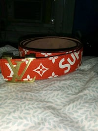 LV/ SUPREME Collaboration Belt Allentown