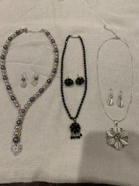 Necklace and earring sets Surrey