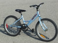 """LIKE NEW GIRLS 20"""" RALEIGH BIG HORN FIRST $75.00 TAKES IT! Mississauga"""