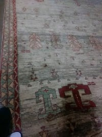 white, red, and green floral area rug Alexandria, 22304