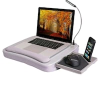 Sofia+Sam Ergonomic Portable Workstation/Lap Desk  Cypress, 90630