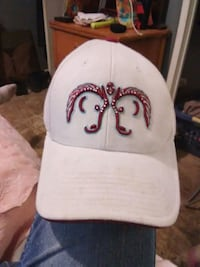 0c11f3142d5cf Used gray and red denim baseball cap for sale in Jackson - letgo