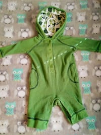 EUC Old Navy Turtle Thermal One Piece 3mth Theodore, 36582