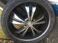 22s 5x120 need tires  New Orleans, 70131