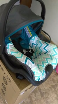 baby's blue and black car seat carrier Manassas, 20111