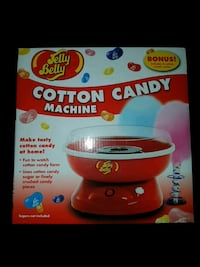 red Jelly Belly cotton candy machine box Delta, V4K 2X6