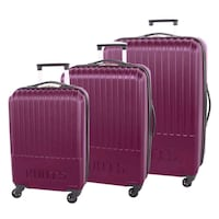 Brand New Roots Roundtrip Collection 3-piece Hardside Luggage Set