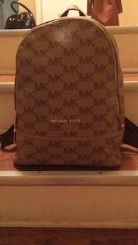 BROWN and TAN Michael Kors backpack