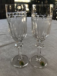 Waterford Bolton champagne flutes