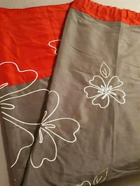 brown and white floral textile Sherwood Park