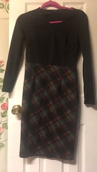 black and gray plaid skirt 33 mi