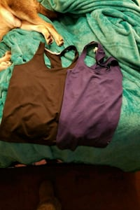 women's brown and green tank tops Sherwood Park, T8A 0V8