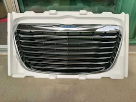Abs Front steel Grille silver