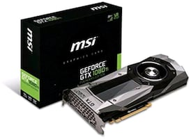 MSI GTX 1080 Ti 11 GB Graphics Card, only 3 months old