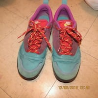 teal-red-and-pink Nike sneakers Victoria, V8P 2Y1