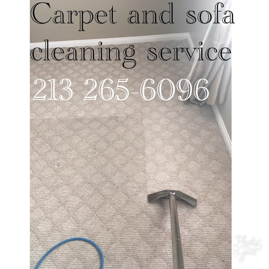 Carpet and sofa cleaning service post