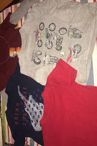 T-Shirts for kids boy size 4-5 short and long sleeves Toronto
