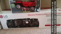 Lg 700 watt home stereo system with free rc car  Tonganoxie, 66086
