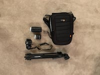 Nikon D-56 camera with 18-35 and 70-300mm lenses. Sunpak tripod. Lowepro camera bag  Columbus, 31904