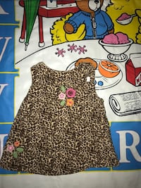 0-3 Months Corduroy Animal Print Dress Fort Washington, 20744