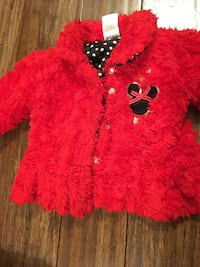 Girls Mickey Mouse Coat