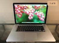 Apple MacBook Pro 15 retina OSX-2017 8gb RAM 1TB SSD HYB - 1 year warranty  Washington, 20024