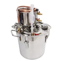 12 Liters Copper Ethanol/Water Distiller Still Stainless Boiler Toronto
