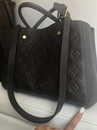 Tote bag Louis Vuitton in pelle nera null